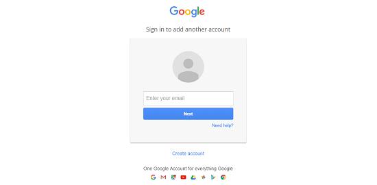 Opret Google Analytics bruger