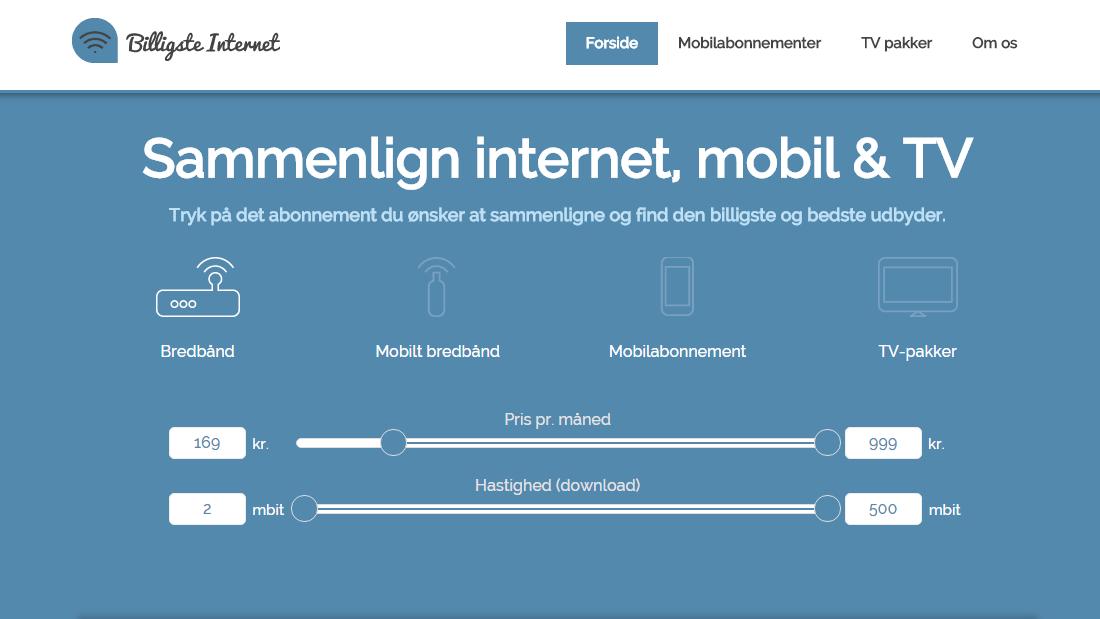 Billigste-Internet.dk