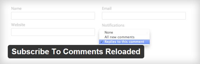 Kommentar notifikation plugin