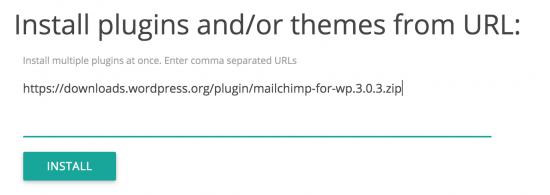 Step 5: Installation af plugins fra URL