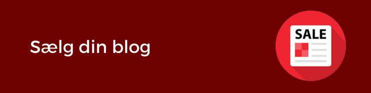 Sælg din blog