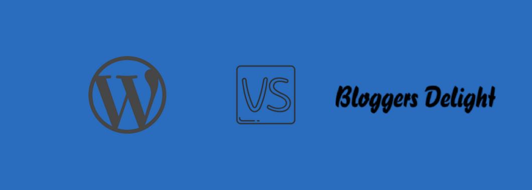 Wordpress eller Bloggers Delight