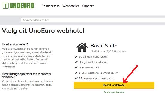 Bestil Basic Suite Unoeuro