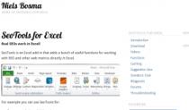 Excel-SEO-tool